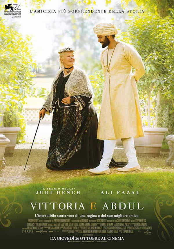 Vittoria e Abdul - locandina
