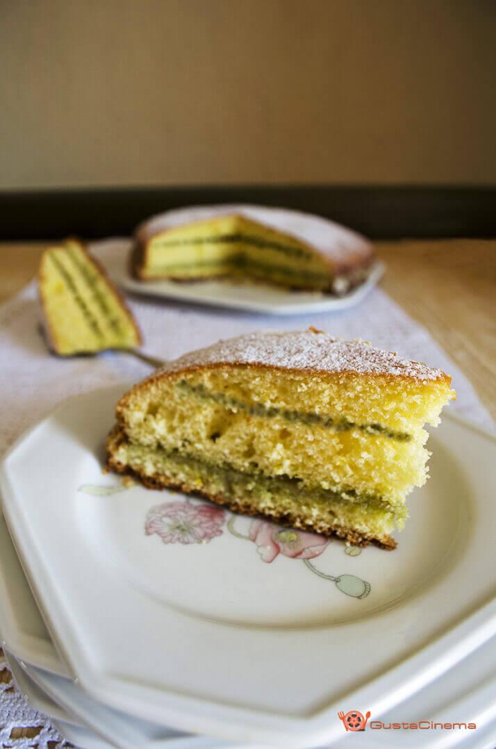 Torta 7 vasetti al pistacchio