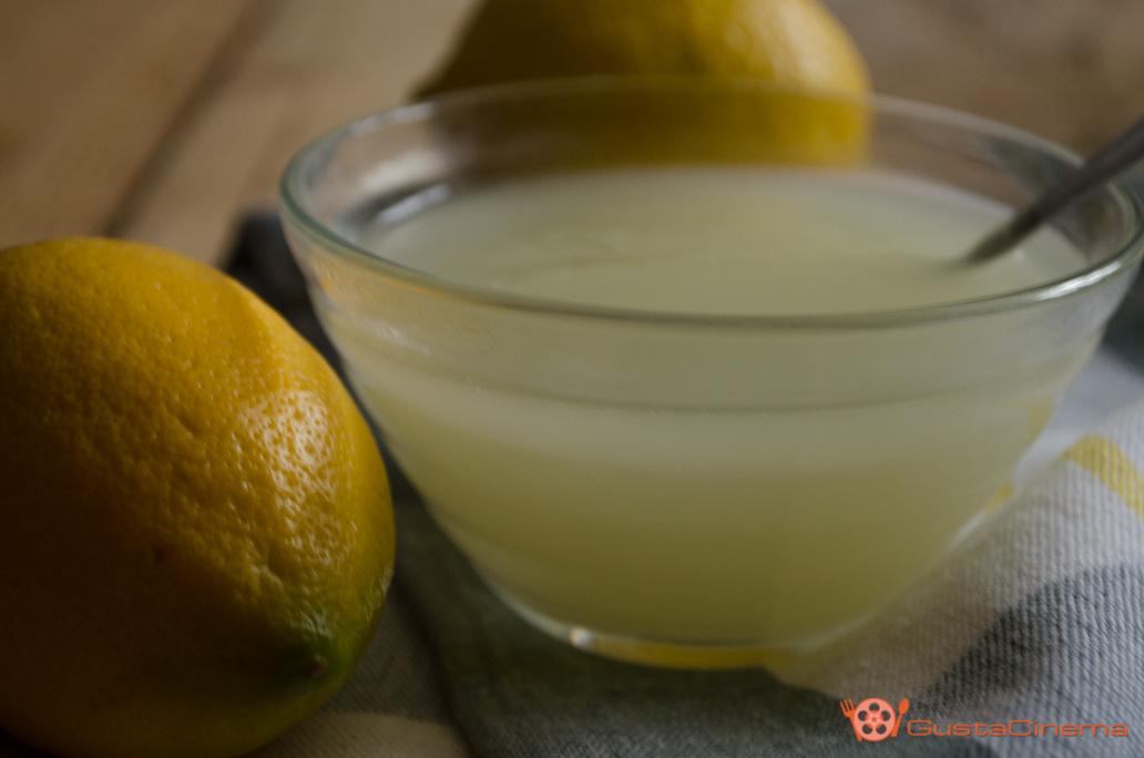 Crema di limone senza uova e senza latte
