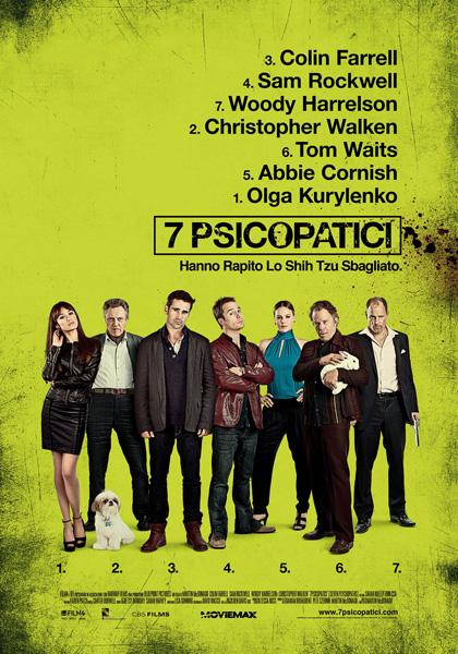 7 psicopatici - locandina