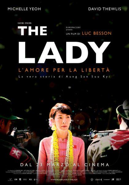 the lady - locandina