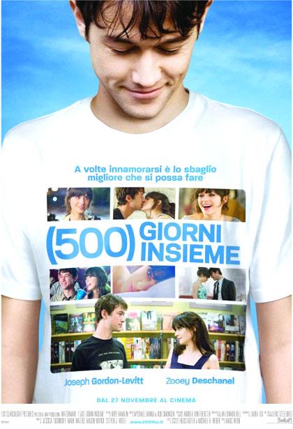 (500) giorni insieme - locandina
