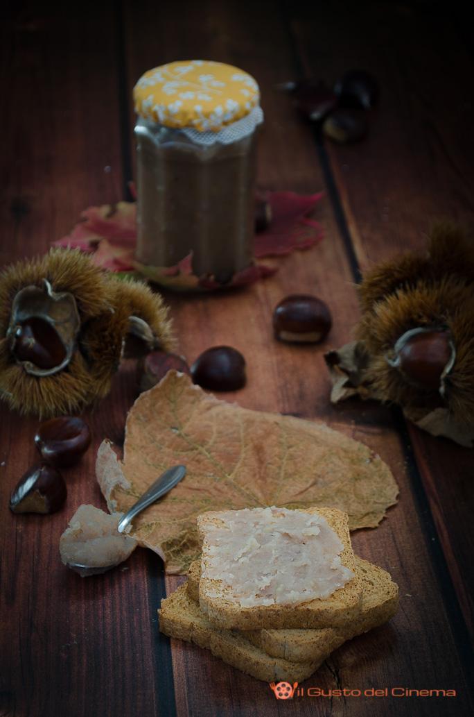 Confettura di castagne fatta in casa