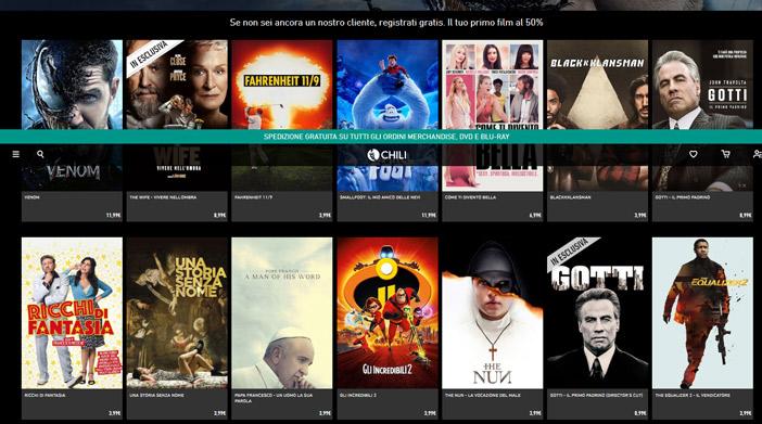 Serie tv e film preferiti online su Chili!