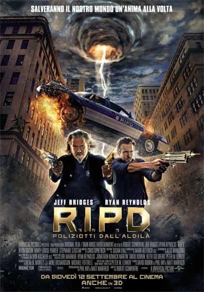 R.I.P.D. - Poliziotti dall'aldilà -locandina