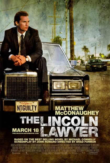 The Lincoln Lawyer - locandina