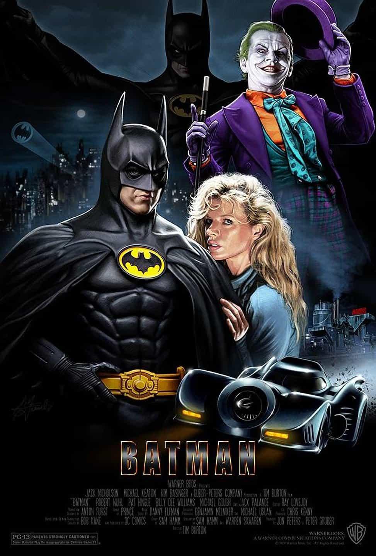 Batman (1989) - locandina