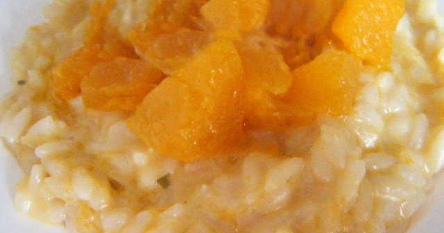 risotto zucca e mascarpone