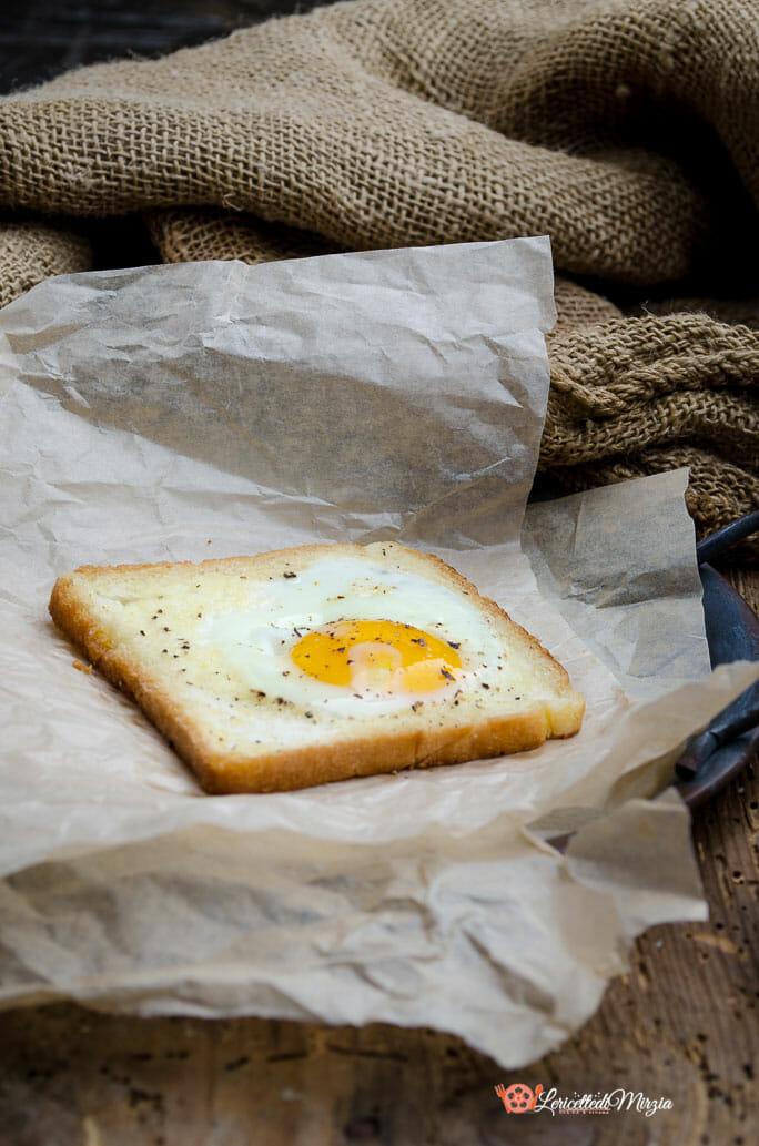 Uova nel cestino