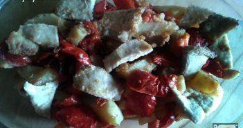 carne di maiale con peperoni