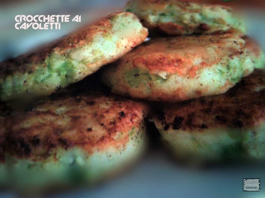 crocchette patate cavoletti