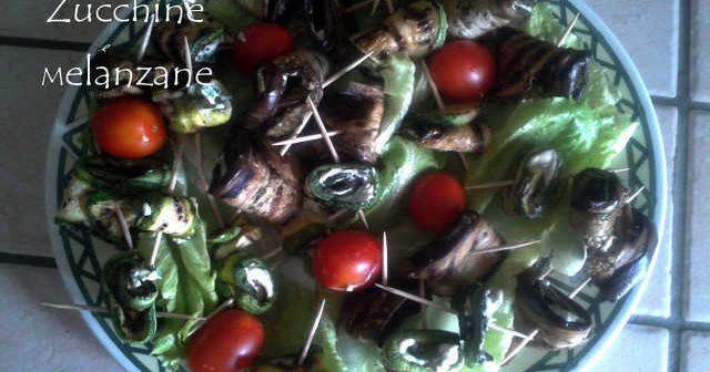 involtini di zucchine e melanzane