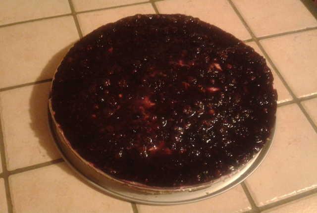 cheesecake frutti di bosco