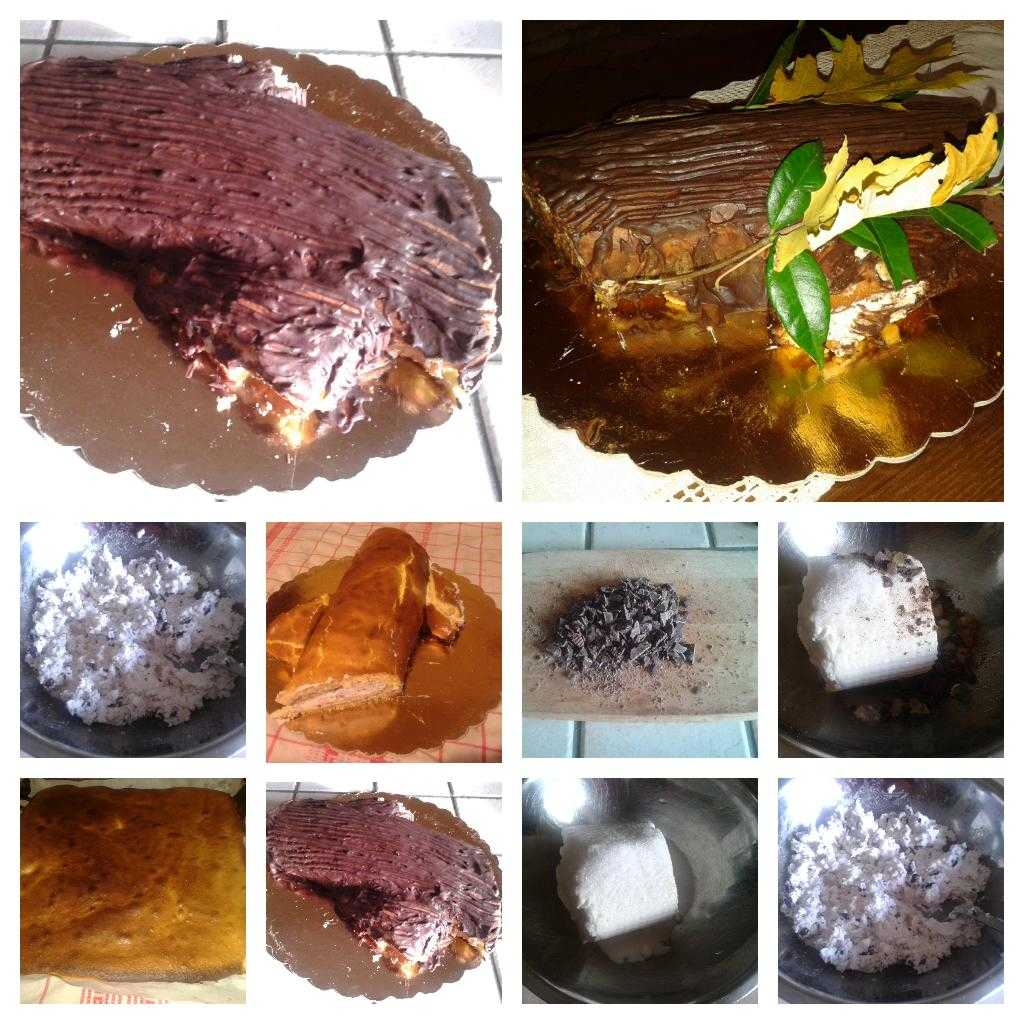 ricetta tronchetto ricotta e cioccolato