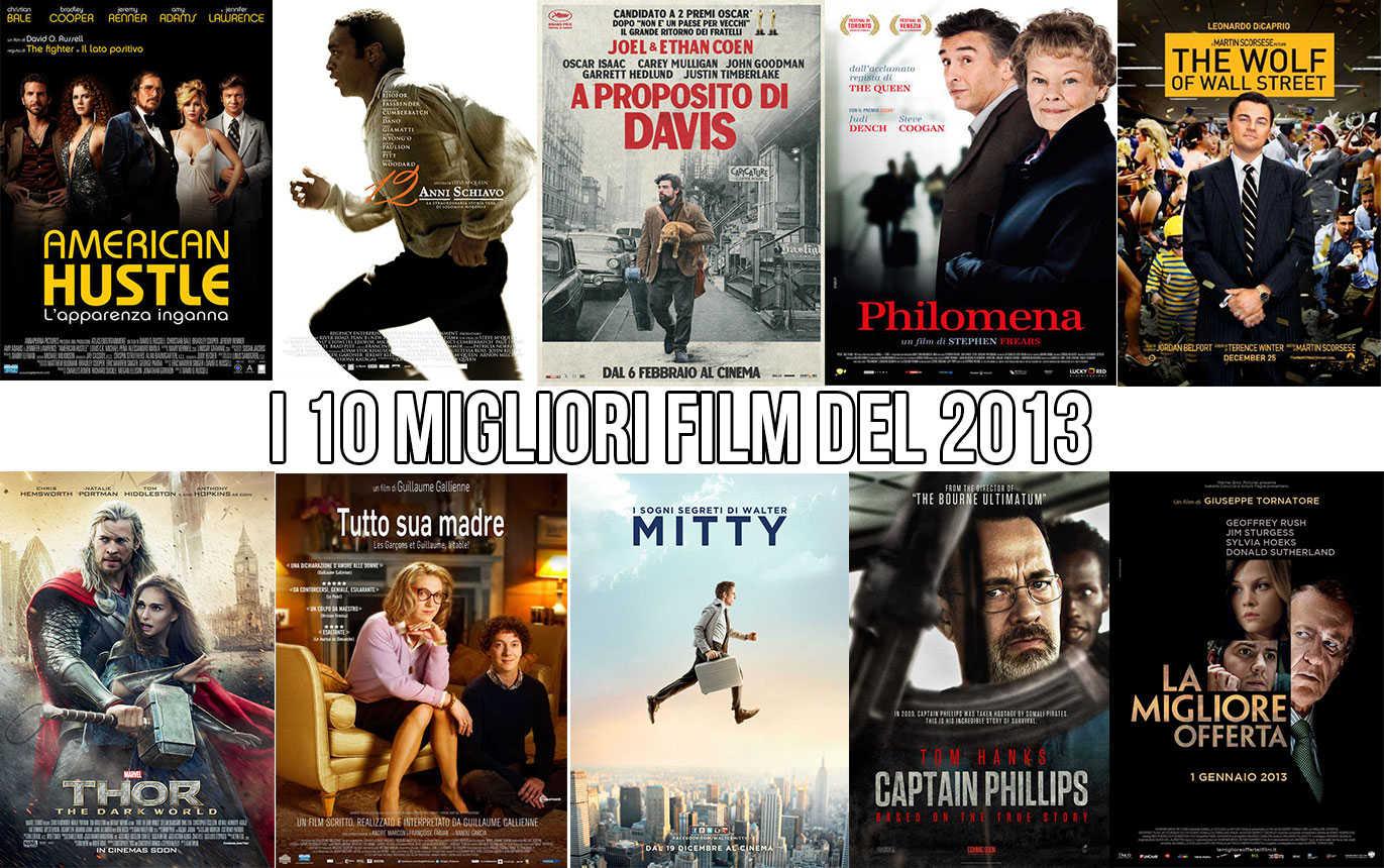 i 10 migliori film del 2013