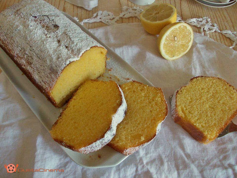 plumcake limone e panna