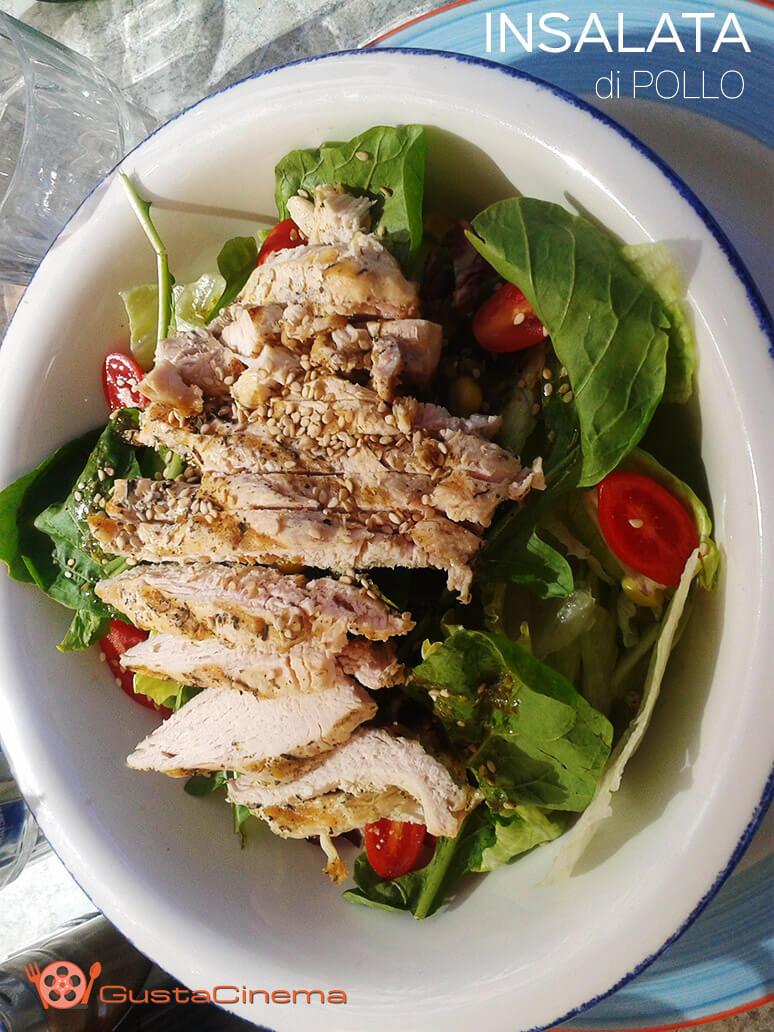 insalata di pollo al sesamo