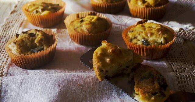 muffin salati melanzane e scamorza