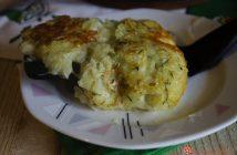 schiacciata patate e zucchine in padella senza uova