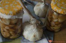 come conservare aglio sott'olio
