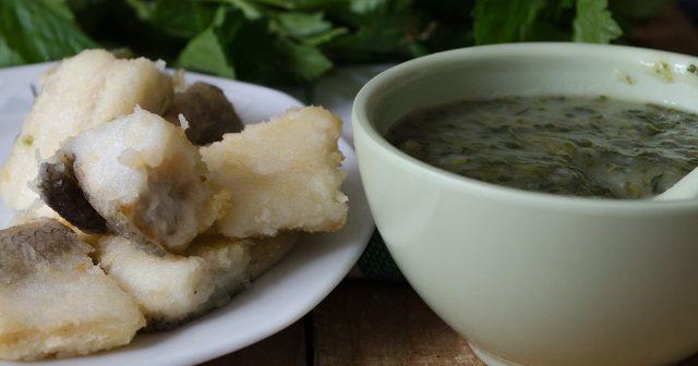 baccala in bianco con crema di sedano e patate