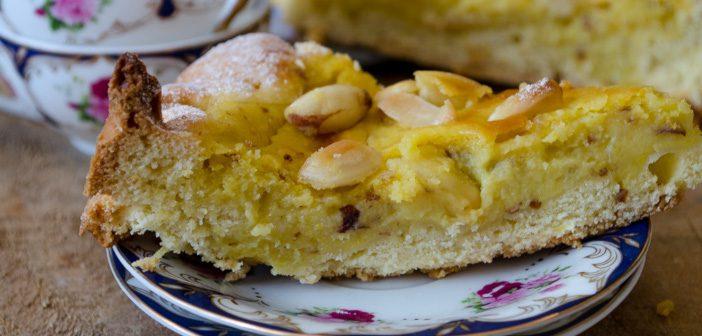 Torta rinascimentale con crema al limone