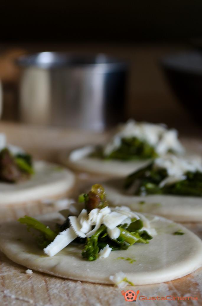 Gnocchi ripieni di broccoli e pancetta