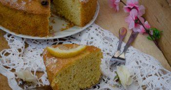 Chiffon cake anice cannella e limone
