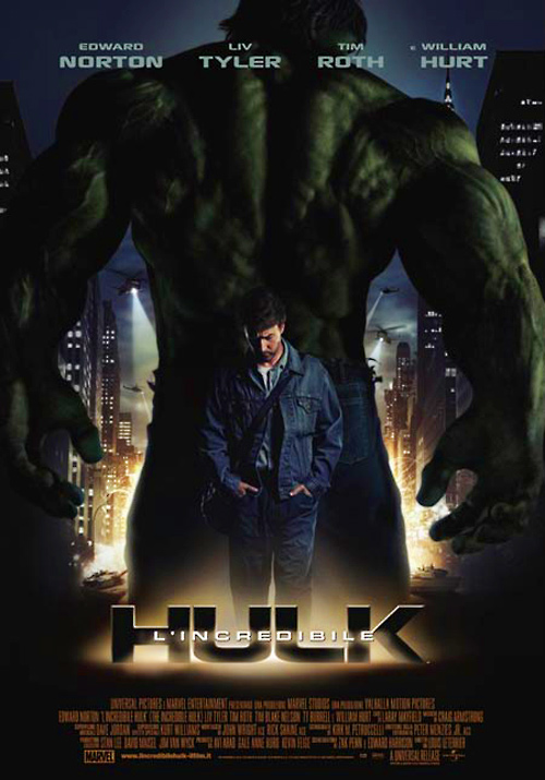 incredibile hulk locandina
