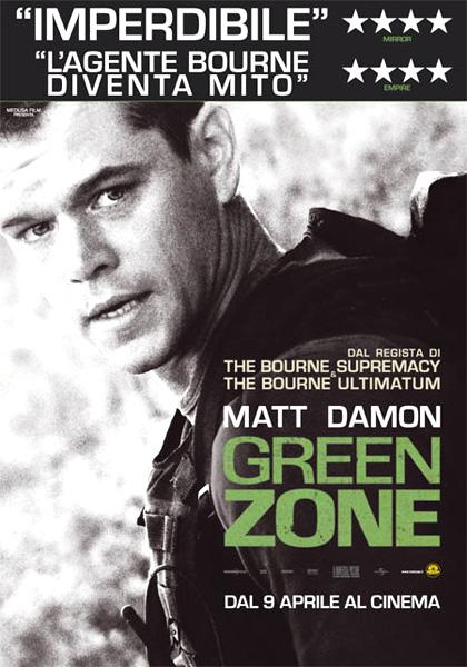 green zone locandina
