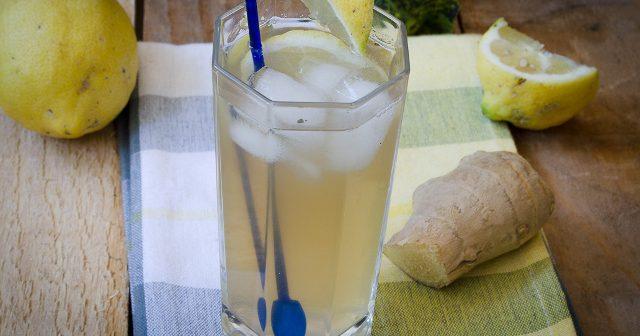 Limonata allo zenzero e menta