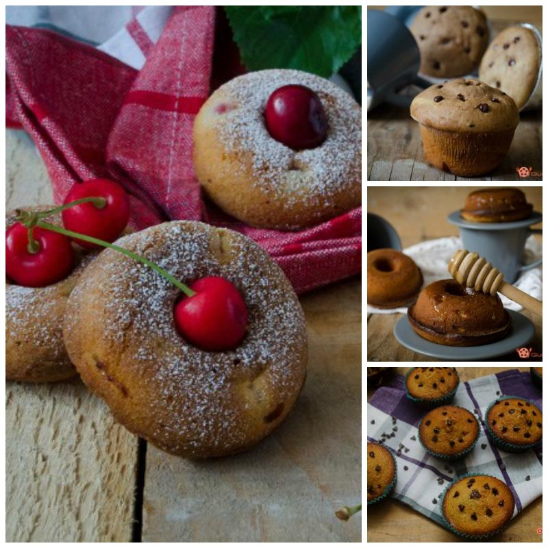 muffin e ciambelline