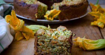 Ciambella 7 vasetti salata con zucchine e carote