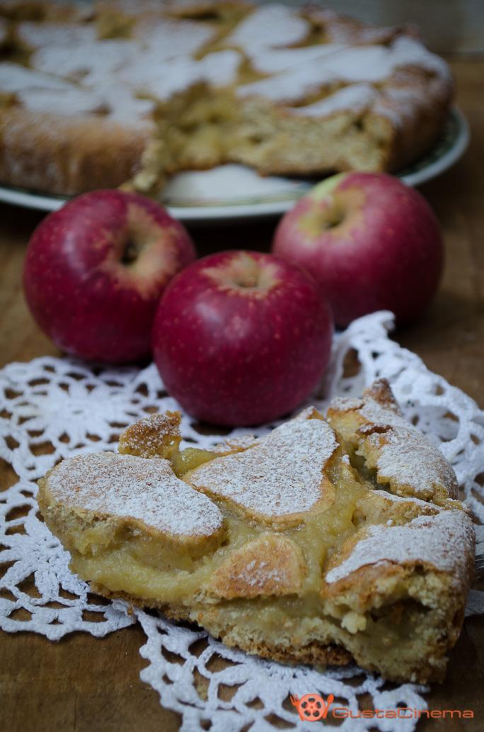 Crostata integrale cuor di mela