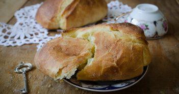 Saccottini di pasta brioche alla crema di mele