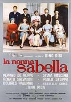 La nonna Sabella - Locandina