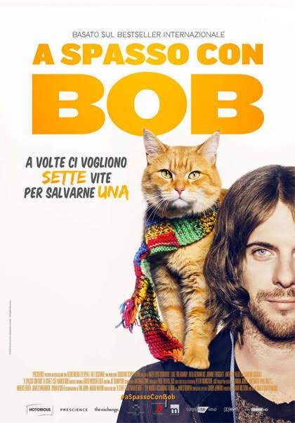 A spasso con Bob - locandina