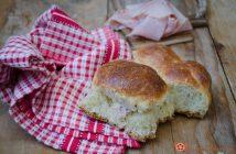 Danubio salato con prosciutto e scamorza