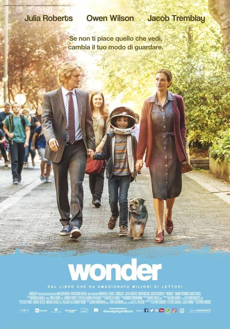 Wonder - locandina