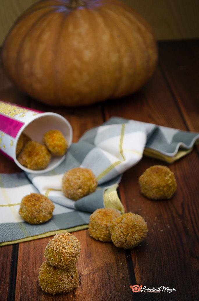 Polpette di zucca e quinoa al forno