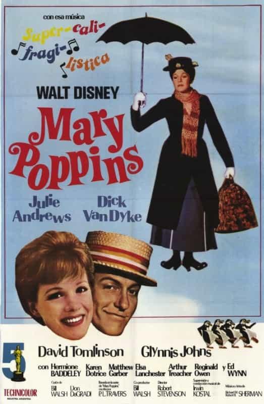 Locandina Mary Poppins (1964)
