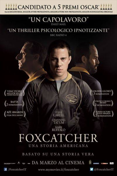 Foxcatcher - locandina