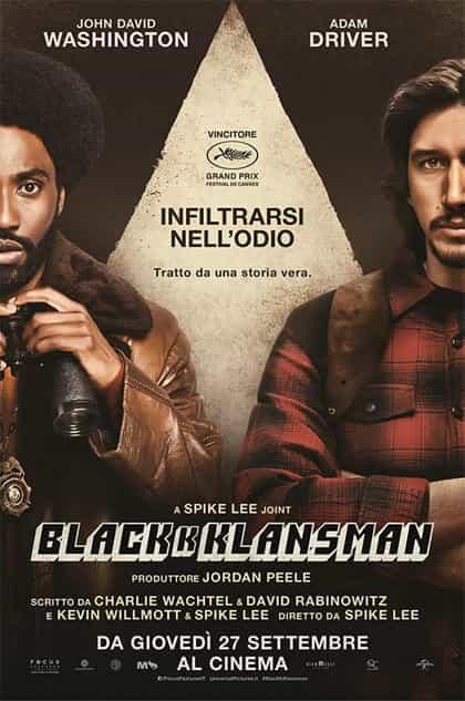 BlacKkKlansman - locandina
