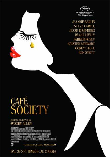 Cafè society - locandina