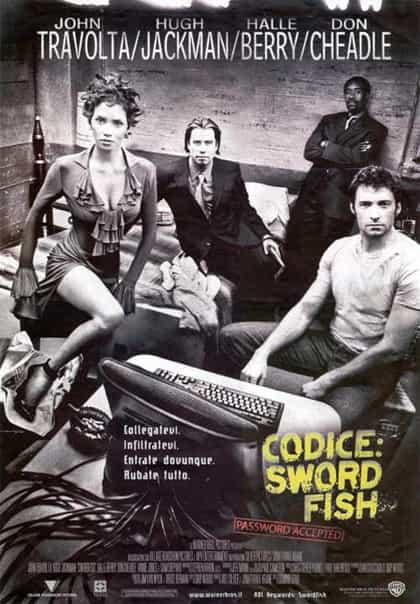 codice: swordfish - locandina