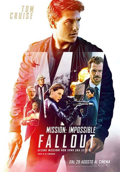 Mission: Impossible – Fallout - locandina