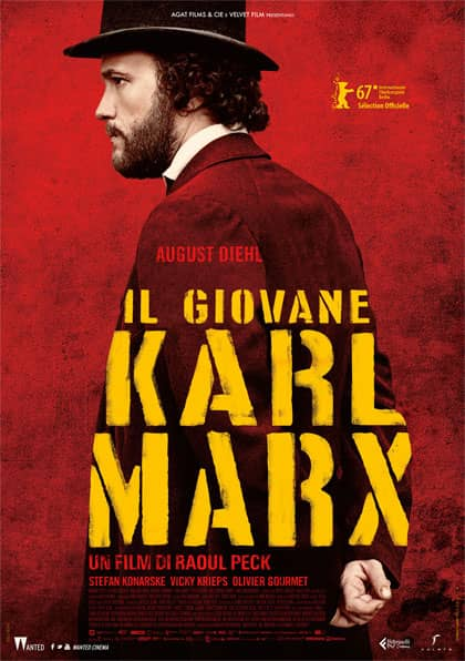 Il giovane Karl Marx - locandina