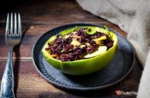 Insalata di riso venere mango rucola e carote