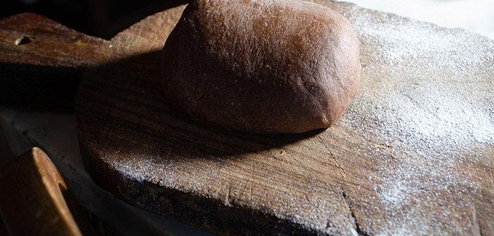 Pasta frolla al cacao farro e burro di cocco