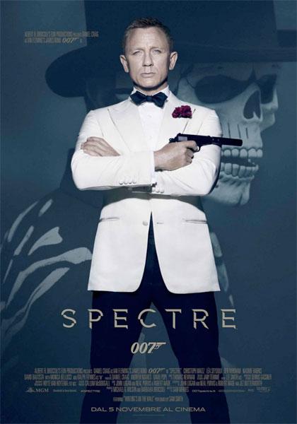 007 Spectre - locandina
